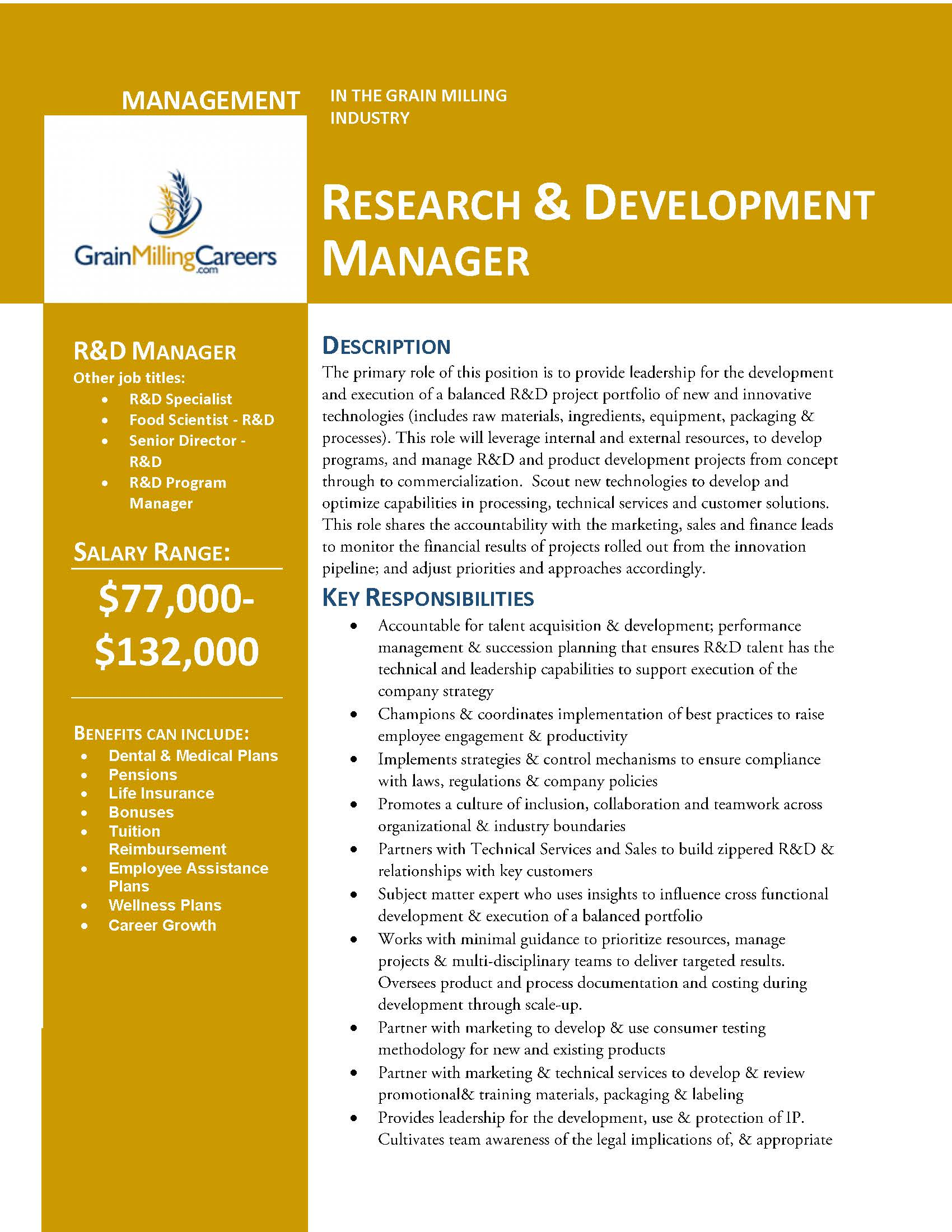 how to become a research and development manager